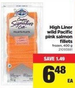 High Liner Wild Pacific Pink Salmon Fillets - 400 G