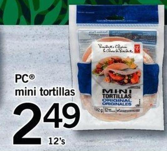 PC Mini Tortillas - 12's