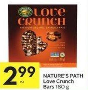 Nature's Path Love Crunch Bars 180 g