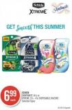 Schick Skintimate (4's) or Xtreme (3's - 4's) Disposable Razors