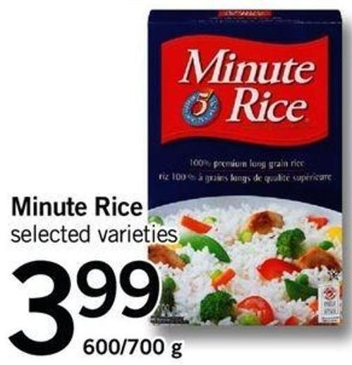 Minute Rice - 600/700 G