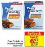 Pure Protein or Atkins Endulge
