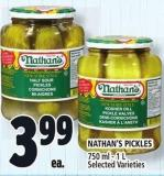Nathan's Pickles