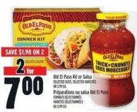 Old El Paso Kit Or Salsa