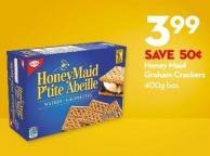 Honey Maid  Graham Crackers 400g Box