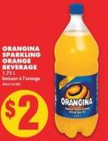 Orangina Sparkling Orange Beverage - 1.75 L