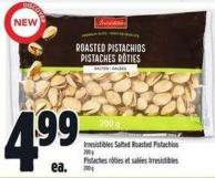 Irresistibles Salted Roasted Pistachios 200 g