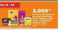Mars Pet Food Brands - Cesar - Pedigree - Iams - Crave - Temptations - Whiskas - Nutro