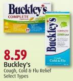 Buckley's Cough - Cold & Flu Relief Select Types