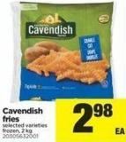 Cavendish Fries - 2 Kg