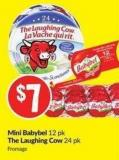 Mini Babybel 12 Pk The Laughing Cow 24 Pk