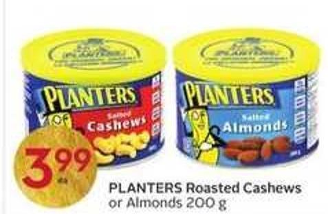 Planters Roasted Cashews