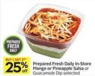Prepared Fresh Daily In-store Mango or Pineapple Salsa