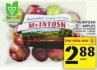 Mcintosh Apples