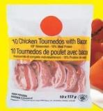 Chicken Tournedos With Bacon - 1.17 Kg