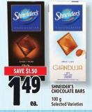 Shneider's Chocolate Bars