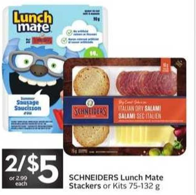 Schneiders Lunch Mate Stackers Or Kits