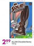 Allan Chocolate Bunny
