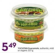 Yucatan Guacamole Authentic - Mild or Organic 227 g