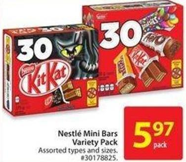 Nestlé Mini Bars Variety Pack