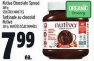 Nutiva Chocolate Spread 369 g