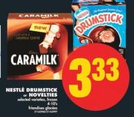 Nestlé Drumstick or Novelties - 4-10's