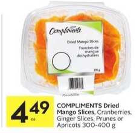 Compliments Dried Mango Slices