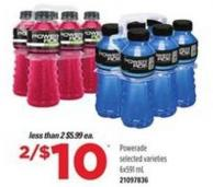 Powerade - 6x591 mL