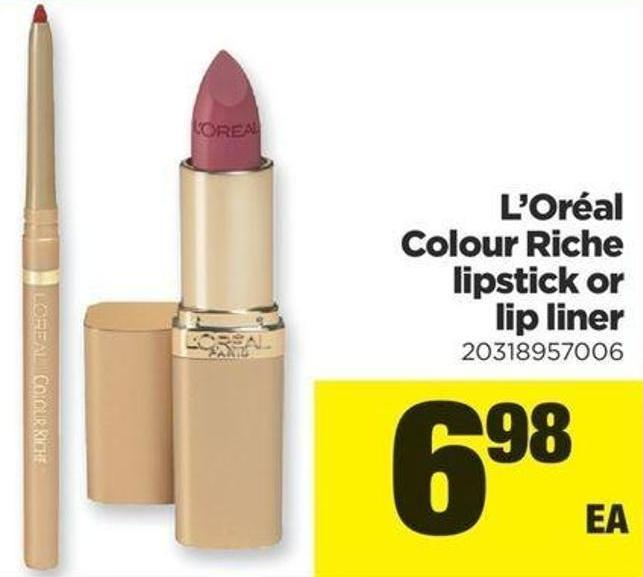 L'oréal Colour Riche Lipstick Or Lip Liner