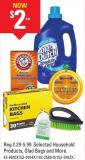 Selected Household Products - Glad Bags and More