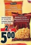 Selection Snacks 265 - 454 g - Or 2.79 Ea.