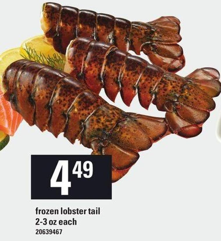 Frozen Lobster Tail - 2-3 Oz