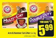 Arm & Hammer Cat Litter 6.4 Kg