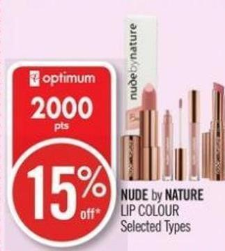 Nude By Nature Lip Colour