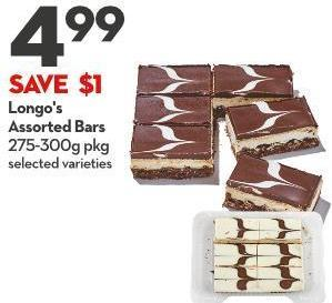 Longo's Assorted Bars 275-300g Pkg