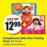 Compliments Little Ones Training Pants