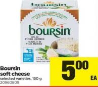 Boursin Soft Cheese - 150 g