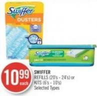 Swiffer Refills (20's - 24's) or Kits (6's - 10's)