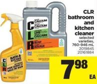 Clr Bathroom And Kitchen Cleaner - 760-946 mL