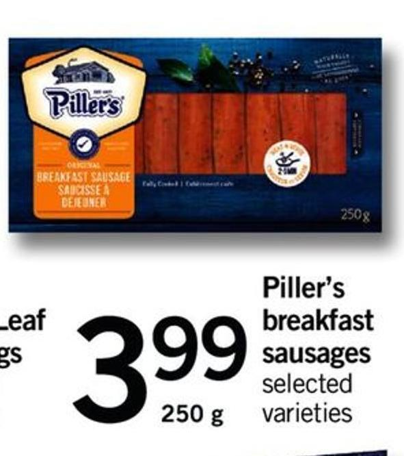 Piller's Breakfast Sausages