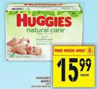 Huggies Wipes 448's