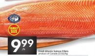 Fresh Altantic Salmon Fillets