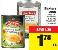 Baxters Soup - 540 mL