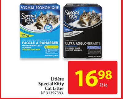Special Kitty Dry Cat Food Ingredients
