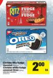 Christie Ritz Fudge Covered 212 G Or Christie White Fudge Covered Oreo 224 G