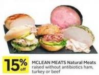 Mclean Meats Natural Meats