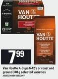 Van Houtte K-cups 6-12's Or Roast And Ground 340 g