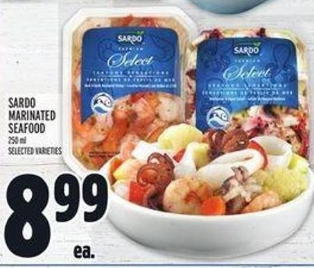 Sardo Marinated Seafood
