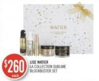 Lise Watier La Collection Sublime Blockbuster Set