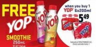 Yop Smoothie 6x200ml